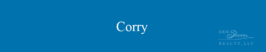 Corry area banner