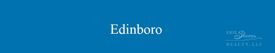 Edinboro area banner
