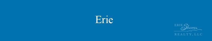 Erie area banner