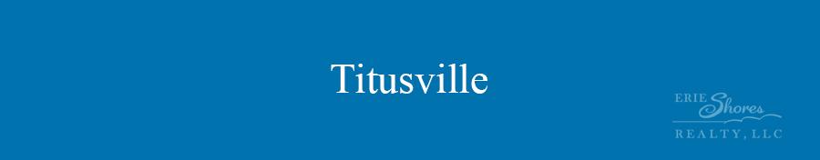 Titusville area banner